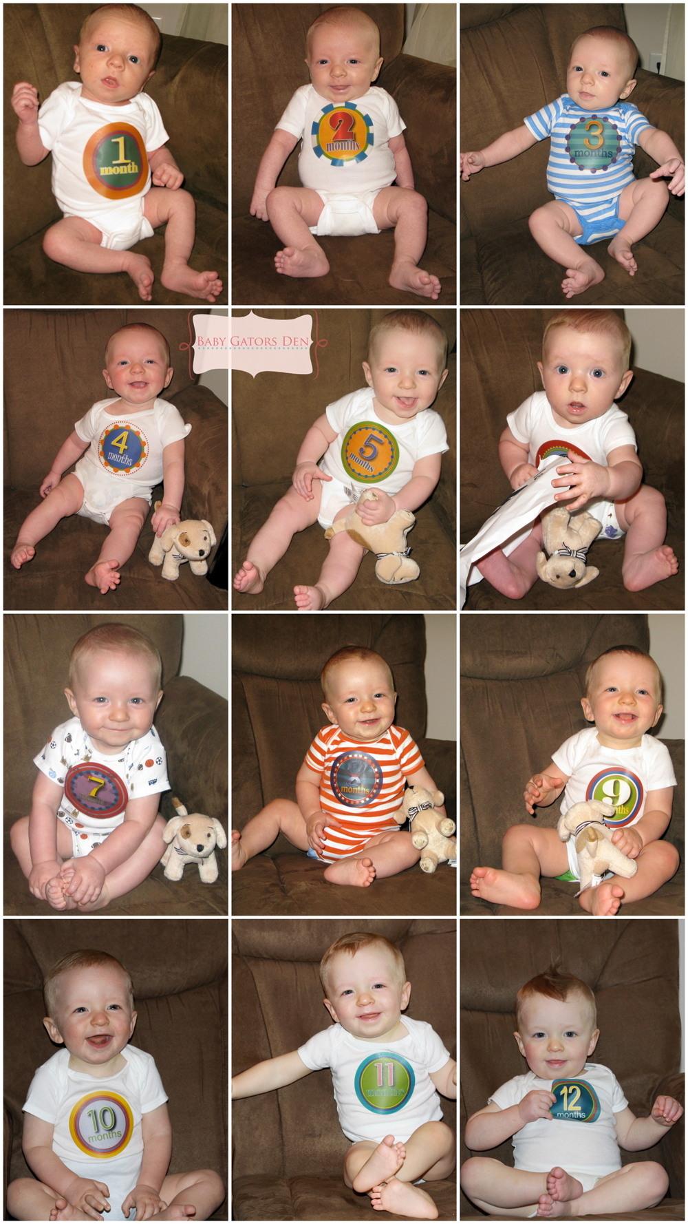 Jacksons First Year Pregnancy & Baby Pictures