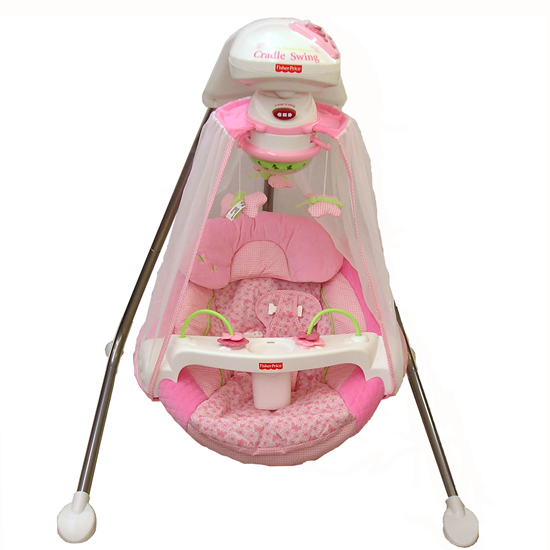 fisher price butterfly swing