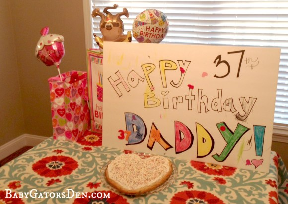 happybirthday.jpg 660x467 Making Dads Birthday Special: for $10 or less