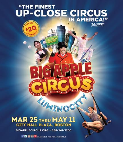 circus Big Apple Circus in Boston {Giveaway}