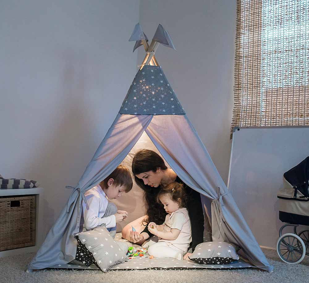 Fancy 2018 Teepee Kids Walmart Kids Teepee Tent Kids To Make Teepee Kids Play Teepee Tent houzz-03 Teepee For Kids