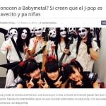 "BABYMETAL 海外の反応 メキシコのサイト""BUNKER""で紹介される!翻訳"