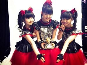 babymetal MetalHammer GoldenGods Awards受賞