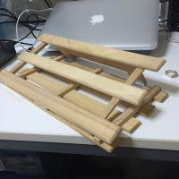 自作 MacBook Pro 用 チルトスタンド