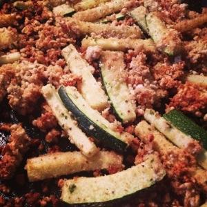 zucchini, dnner, summer, fries