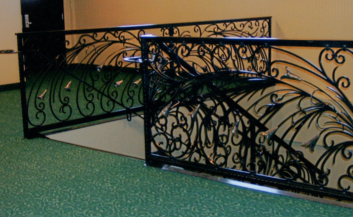 Stylish Project Gallery Stairs Sale Wrought Iron Railing Leg Extensions Railing Forged Railing Project Gallery Stairs Railing Forged Railing Wrought Iron Railings houzz-03 Wrought Iron Railing