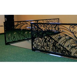 Small Crop Of Wrought Iron Railing