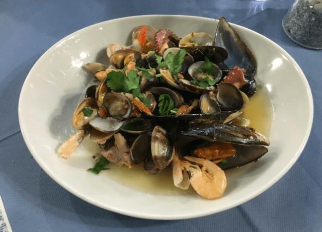 海の幸のソテー(Frutti di mare a saute) (出典:著者撮影)