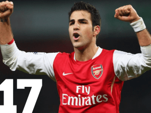 Top 50 Players in the World - Cesc Fabregas