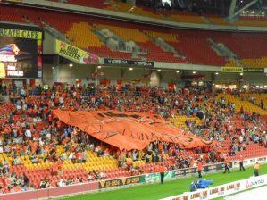 Brisbane Roar Crowd