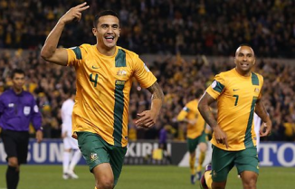 Socceroos Cahill Australia