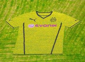 Dortmund launch new shirt in style