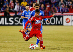 Mauro Diaz delivers as Dallas enjoy unbeaten start