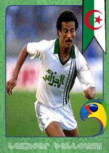 World Cup Legends: Algeria and Lakhdar Belloumi