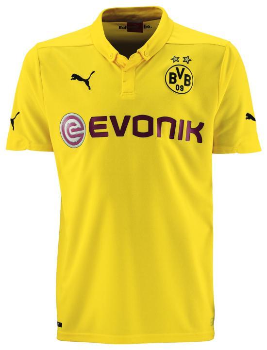 Dortmund Champions League jersey