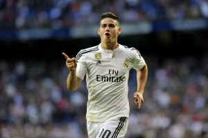 Report: Manchester City are keen on Real Madrid's James Rodriguez