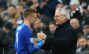 Can Jamie Vardy overhaul a Manchester United legend this weekend?