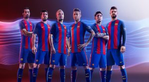 Pic: The 2016/17 Barcelona home kit