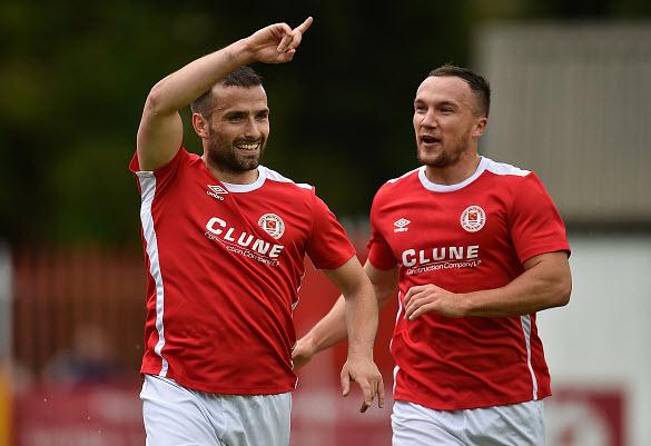 Europa League: Pat's take slender lead into return leg in Luxembourg