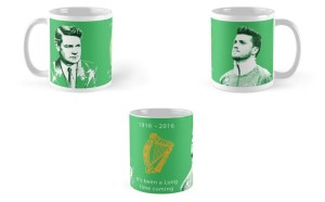 Handcrafted Rebel Mug combines Ireland's past and present