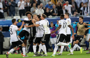 Video: Germany beat Italy in sudden death shootout