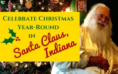Celebrate Christmas Year Round in Santa Claus, Indiana
