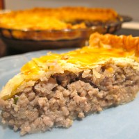 Classic French Canadian Tourtiere