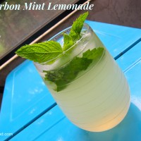 Bourbon Mint Lemonade- My New Summer Drink