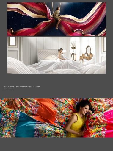 Star Bedding - Titi Kamal
