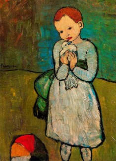 Child with a Dove, Pablo Picasso, 1901