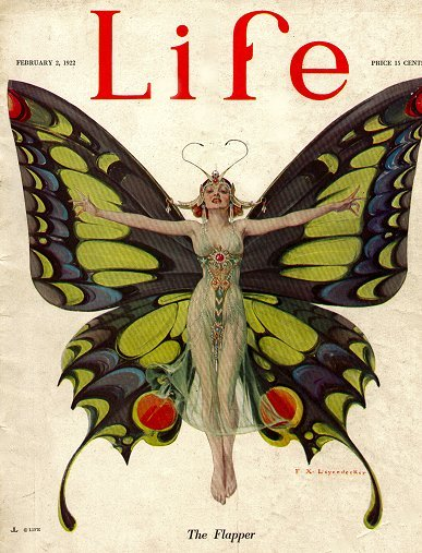 "Life Magazine, ""Flapper"""