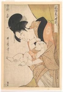 Midnight, Mother and Sleepy Child, 1794