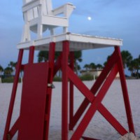 Climbing the Lifeguard Chair