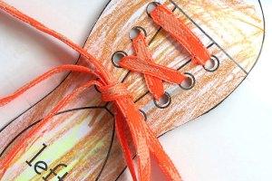 shoe lace practice