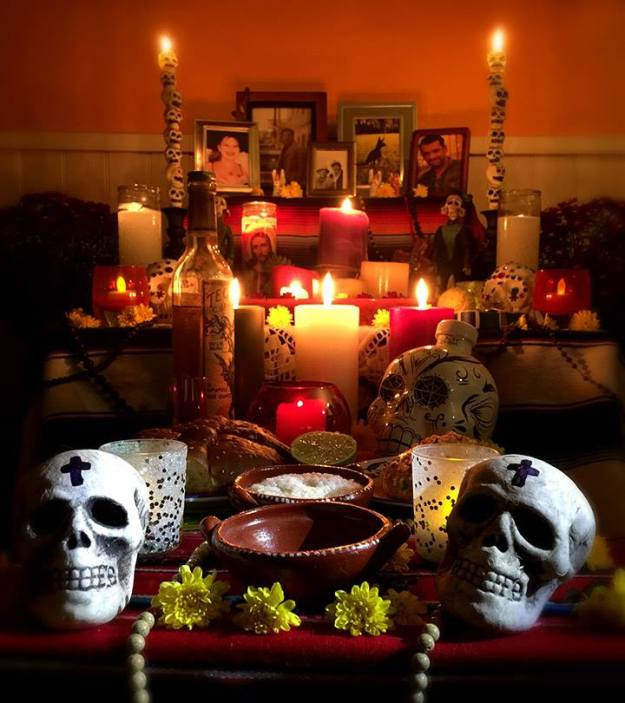 Altar for Dia de los Muertos, by Jose Luis Silva.