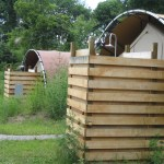 Glamping showers - Long Point Eco-Adventures