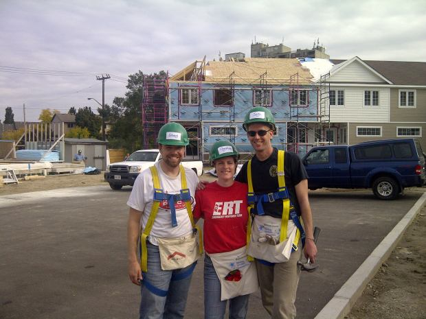 Habitat for Humanity build