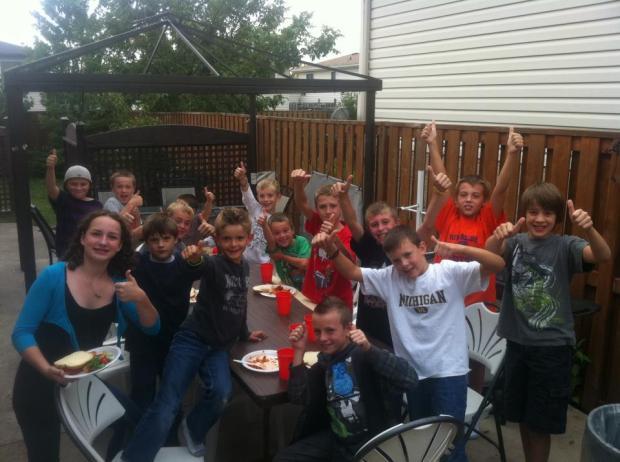 Keagan's birthday fundraiser