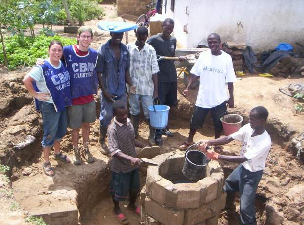 africa well photo