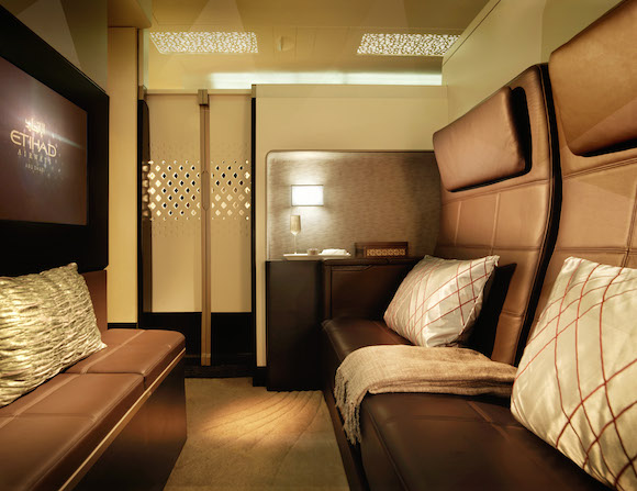 Etihad A380 - The Residence