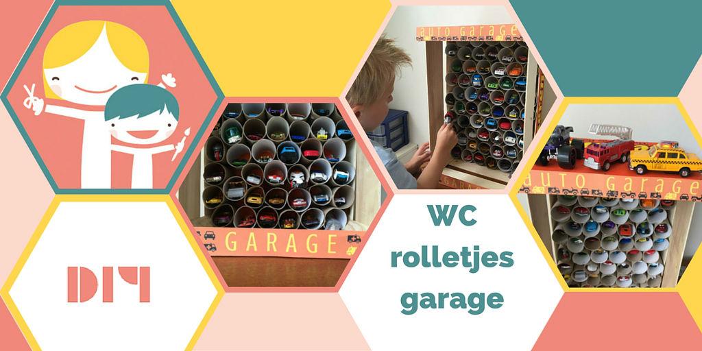 Wc rolletjes garage