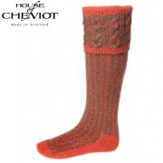 House Of Cheviot Socks Reiver Autumn Glow