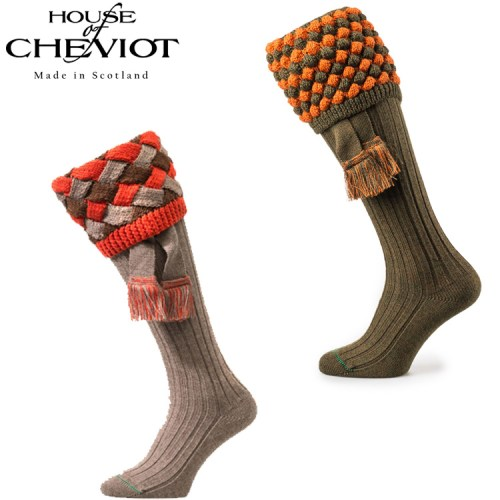 Inside Mansion Of Kirkwood: House Of Cheviot Angus Merino Wool Blend Country Socks