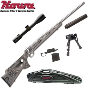 Howa LRV Stealth Rifle Combo