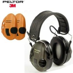Peltor Sportac Hearing Protectors