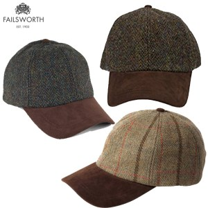 Failsworth Tweed Baseball Caps