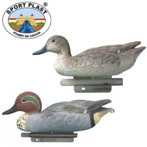 Sports Plas Teal Decoys
