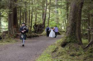 Haida Gwai wedding