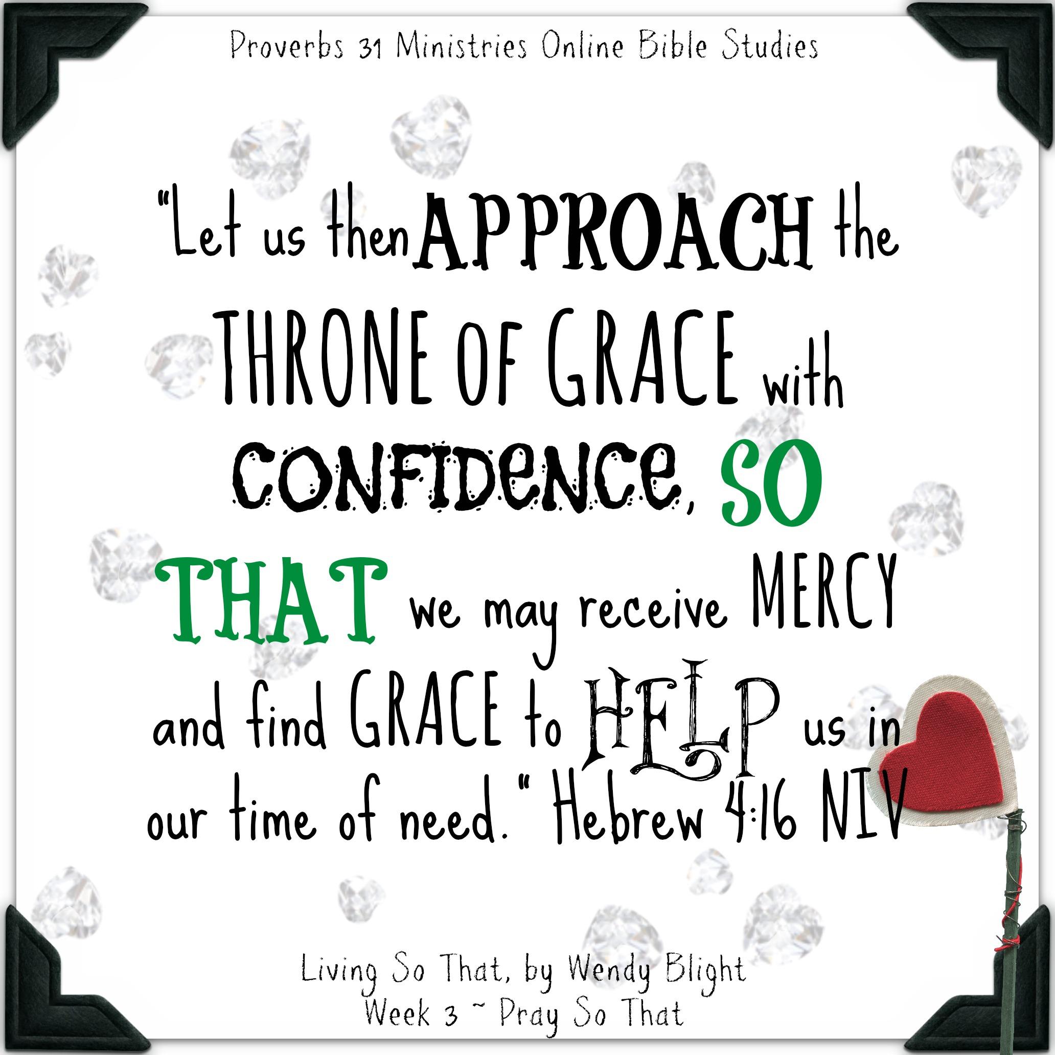 finding treasure in the word ~ hebrews 4:16 - sarah travis