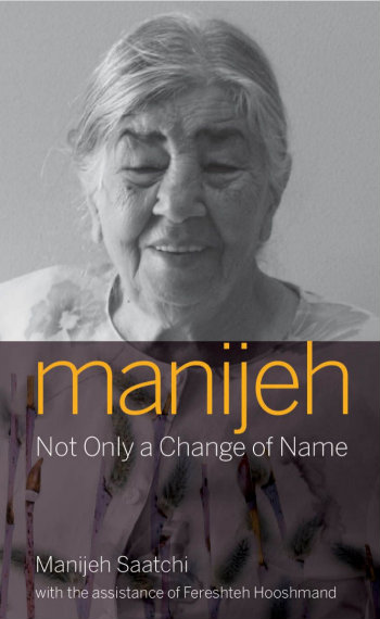 Manijeh Not Only a Change of Name 350x570